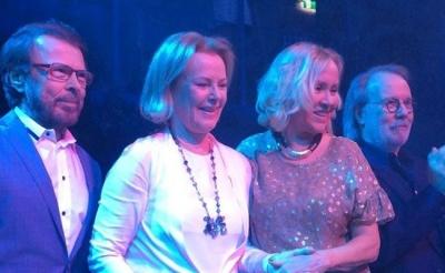 Легендарная группа ABBA воссоединилась